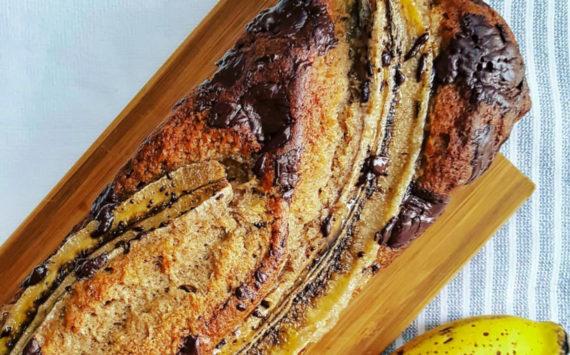 Idealny chlebek bananowy