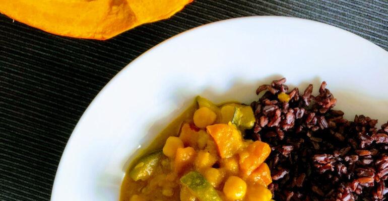 Rozgrzewające curry z dynią, www.dietazglowa.pl, Magdalena Słota