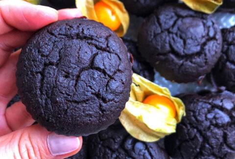 Muffiny czekoladowe fit, www.dietazglowa.pl, Magdalena Słota