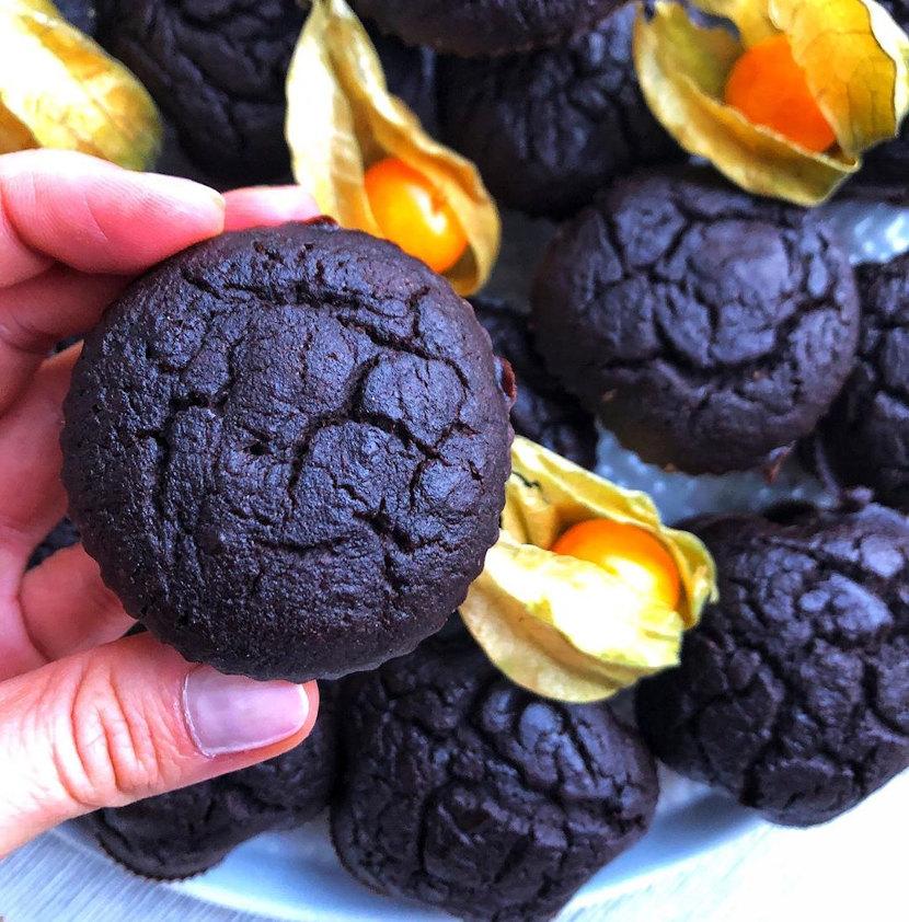 Muffiny czekoladowe fit