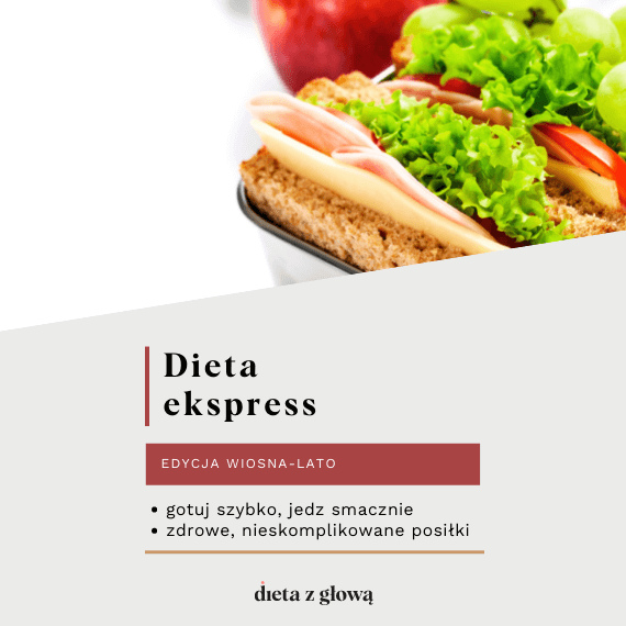 Jadłospis z dietą ekspres