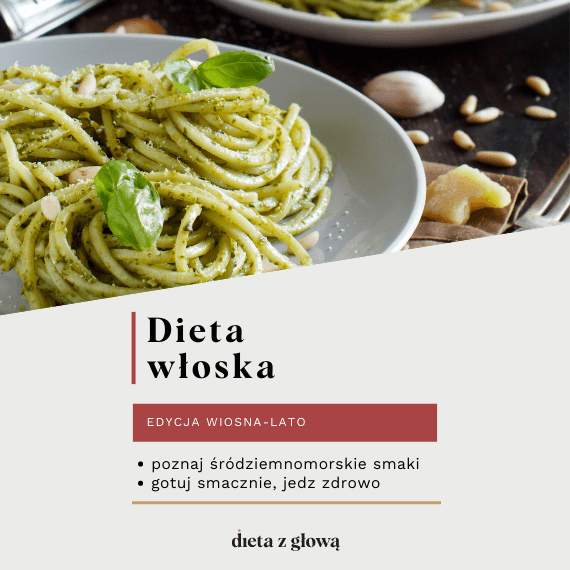 Jadłospis z dietą włoską