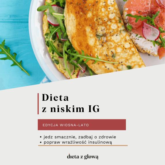 Jadłospis z dietą z niskim IG